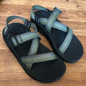 Chaco Men's Green Sandal Size 9